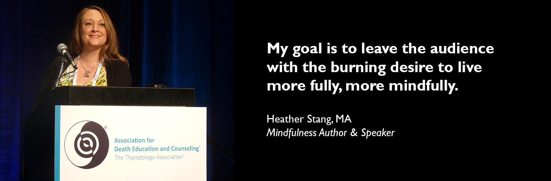 mindfulness speaker